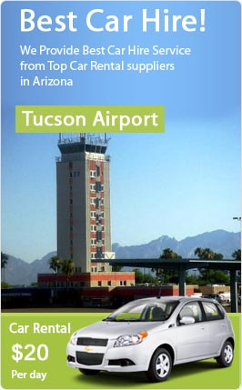Car Rental Tucson Airport Find Cheap Car Hire Deals At Tucson